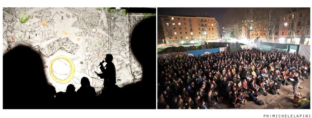 occupy mordor. wu ming racconta il murales di blu